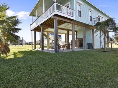 Photo for Serenity is yours when renting this bayside home with fantastic water views!  Time for fishing, swimming, hunting and some FREE ACTIVITIES when you rent this property.