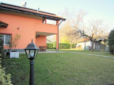 Photo for In the centre of Verbania, charming family apartment at 5 minute from the lake