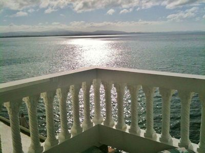 Photo for Lookout-100 ft Beautiful Oceanfront Beachouse surrounded by Sea & Mountains