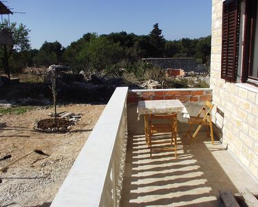 Photo for One bedroom apartment with terrace Drage (Biograd)