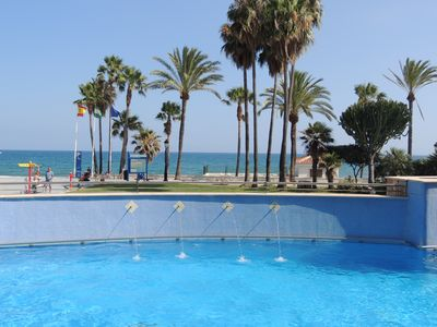 Photo for Beach Front - San Pedro, Puerto Banus, Marbella Apartment