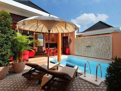 Photo for Central Seminyak 500m beach villa(#C11)