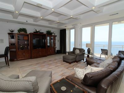 Photo for La Playa 1203- Beach Front Views with Wrap-Around Terrace!