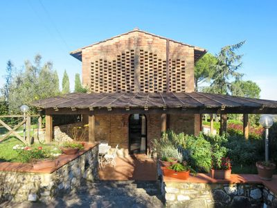 Photo for Vacation home Il Villino (SGI480) in San Gimignano - 6 persons, 2 bedrooms