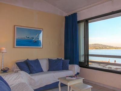 Photo for Studio flat with mezzanine on the beach