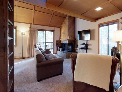 Photo for Cozy condo w/ deck, shared pools, & hot tubs - great location near Shaver Lake
