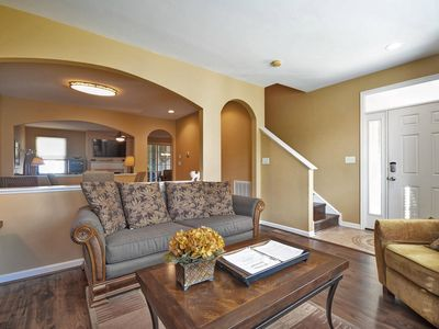 Photo for Gorgeous 2905 Sq townhome with lovely guest cottage