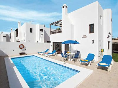Photo for Stylish villa with all modern comforts and a pool, close to many attractions incl the beach