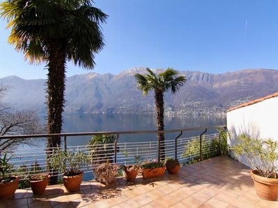Photo for Tastefully furnished 2-room apartment with large balcony and dream view
