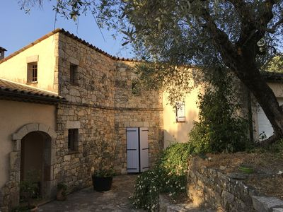 Photo for Provencal house on one level in a quiet olive grove in Grasse