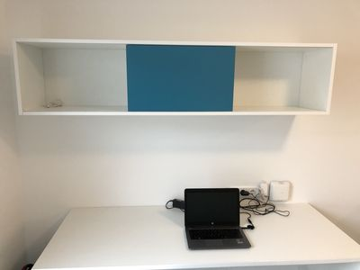 Photo for Studio Flat on Top of Bonn Central Station for 1 person or couple