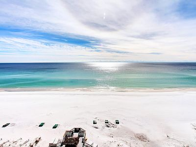 Photo for BEACHFRONT at SunDestin 1703☀Sep 4 to 6 $467 Total!☀Heated Indoor Pool+HotTub