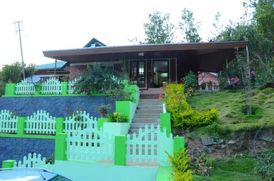 Front View of the Familycare Homestay Munnar