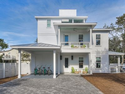 Photo for SOUTH OF 30A! CLOSE TO BEACH/ PRIVATE POOL/4 YOLO BIKES/NEW HOME SLEEPS 14