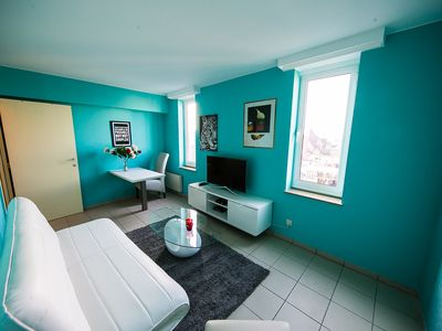 Photo for Turquoise cozy fun apartment
