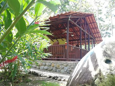 Photo for Lodge Oxygen Rainforest - Wifi, A / C, River, equipped