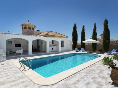 Photo for Detached villa with private pool on Mazarron Country Club, 3 km from Mazarrón on the Costa Calida