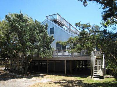 Photo for Escape Hatch:  Pet friendly home, tucked among the trees, rooftop deck