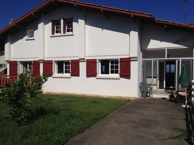 Photo for Maison Hendaye 4-10 Pers. 12 min walk to the beach, sea view