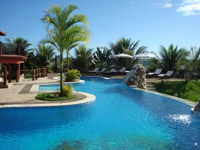 Photo for Spectacular house with swimming pool and leisure area at 20km from Arraial de Ajuda.