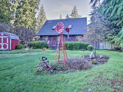 Photo for Modern South Whidbey House - Steps to Tidal Flats!