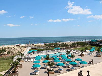 Photo for 304N: Remodeled 2BR+den Sea Colony Oceanfront Condo! Beach, pools, tennis ...