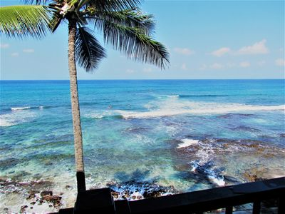 Photo for Oceanfront Wall Of Glass, Stunning Ocean Views, Large Lanai, AC- Banyan Tree 301