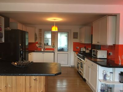 Photo for Chiganel, near Bude. Sleeps 10, outdoor hot tub. Short drive to the beach.