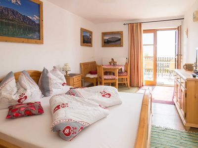 Photo for Apartment Schafberg - Apartment on the farm Margarethengut am Attersee