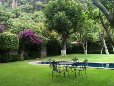 Photo for Country House with Pool in Malinalco, Mexico, 12 guests