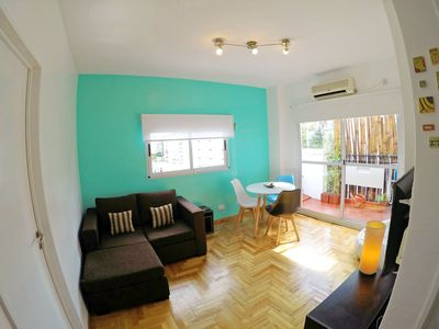 Photo for Sunny and Modern Flat in the Heart of Palermo Soho, Plaza Armenia