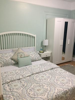 Photo for Renovated 2 bedroom 7 min to/ from LGA. 18 min to/ from JFK airport