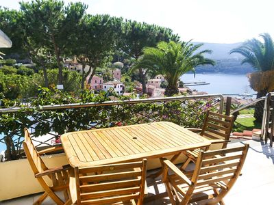 Photo for Porto Azzurro with swimming pool - Two-room apartment in a small residence