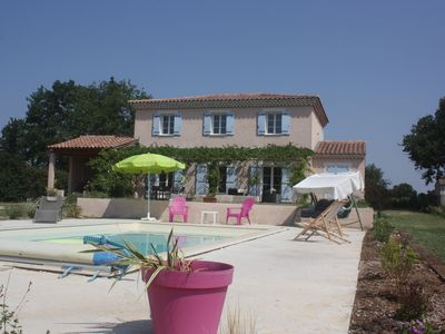 Photo for Provencal country house with private pool