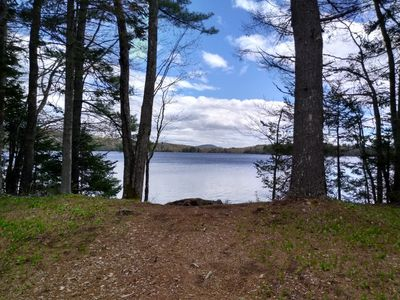 Photo for Rustic off grid experience lakefront