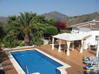Photo for Beautiful Villa set in a delightful valley, close to Competa,Nerja and the sea.