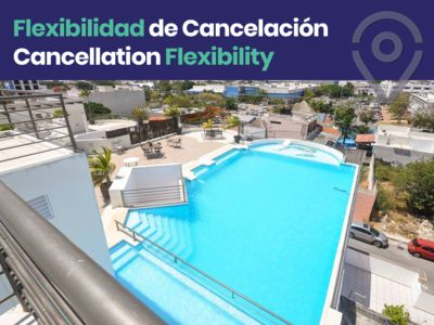 Photo for Prime Condo in Playa- Rooftop Pool, Walk to Beach!