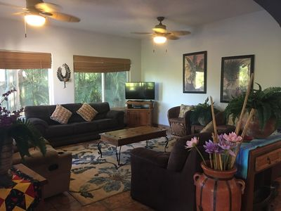 Photo for Beach Villa, 5 BR, Ocean View, just 3 blocks from the beach!!!