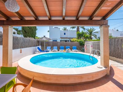 Photo for Ibiza-style holiday villa in Majorca
