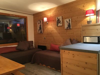 "Photo for BELLE PLAGNE - APARTMENT RENOVATED IN THE HEART ""SKI PARADISE"""