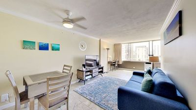 One bed room unit located in the center of Waikiki.