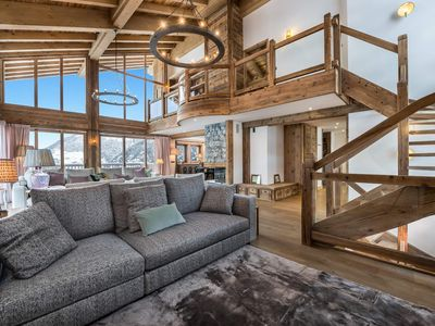 Photo for Chalet Libellule: New Chalet with breathtaking view