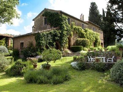 Photo for Colombiao di Momo: A Large 17th Century Farmhouse overlooking Tuscan hills