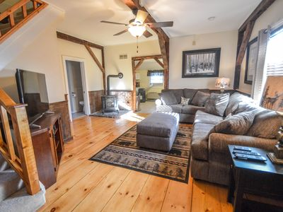 Photo for 3BR in N Conway Village - AC, Huge Yard w/ Fire Pit. WALK TO DOWNTOWN!