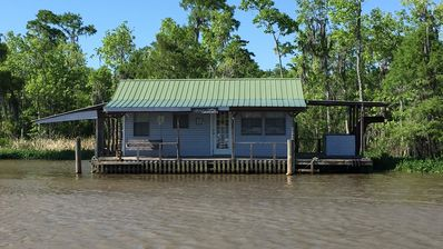 Photo for Boathouse on the Tickfaw River! Only Accessible by Water Across from Prop Stop!