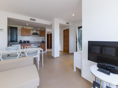 Photo for House with sea views near the beach of Cala Tarida.