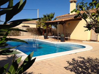 Photo for Attractive Detached Villa with Private Pool and gardens