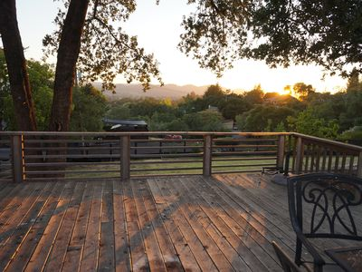 Photo for House with beautiful wine country views
