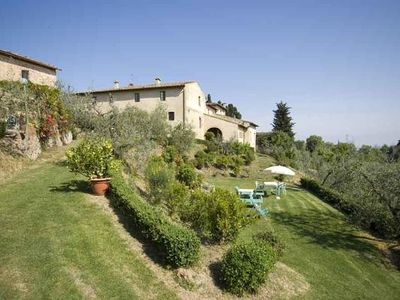 Photo for Holiday apartment San Gimignano for 2 - 4 persons with 2 bedrooms - Holiday apartment