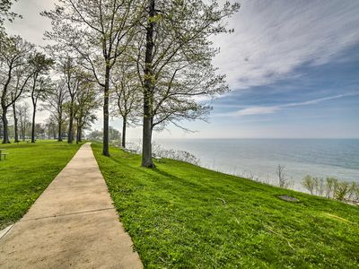 Photo for Geneva Cottage w/ Patio - Steps from Lake Erie!